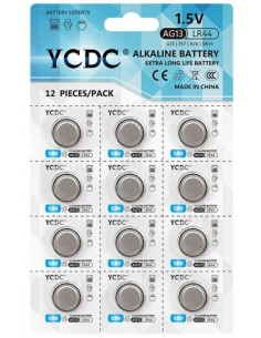 Alkaline button battery...