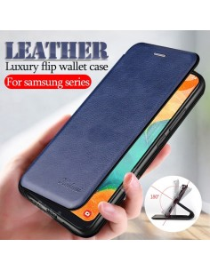 leather flip case For...
