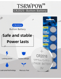 Lithium button battery...