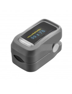 Finger pulse oximeter with...