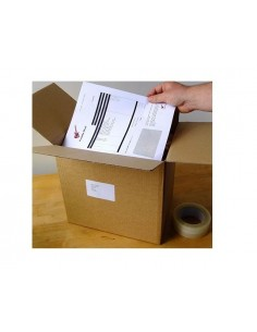A4 integrated label invoice...